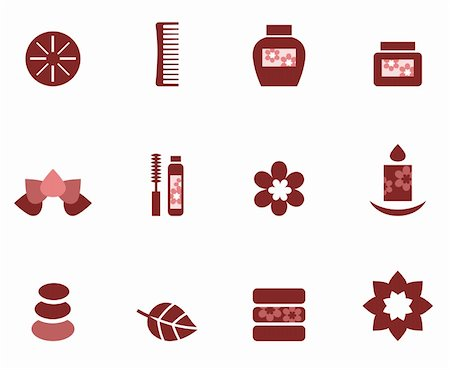 Zen and wellness symbols. Vector Stock Photo - Budget Royalty-Free & Subscription, Code: 400-06095588