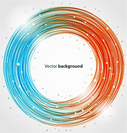 Abstract circle bright colorful background. Vector illustration eps10 Stock Photo - Budget Royalty-Free & Subscription, Code: 400-06090518