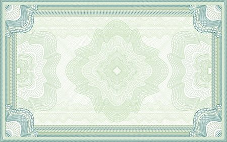 filigree - Certificate,diploma or banknote background Stock Photo - Budget Royalty-Free & Subscription, Code: 400-06104549