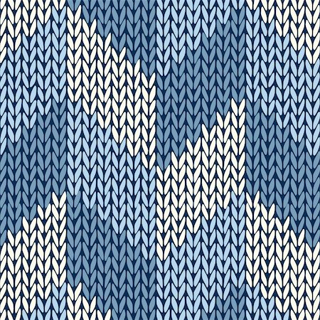 Style Seamless Color Knitted Pattern Stock Photo - Budget Royalty-Free & Subscription, Code: 400-06101029