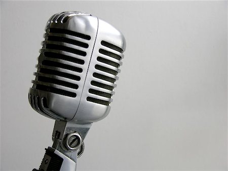 """The retro Shure """"Elvis Mic"""" from the 50's. Stock Photo - Budget Royalty-Free & Subscription, Code: 400-06126881"""