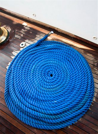 svetap (artist) - Ship rope texture wave closeup background helix on wood. Swirl blue spiral marine tool. Industry object design. Travel pattern. Stock Photo - Budget Royalty-Free & Subscription, Code: 400-06139572