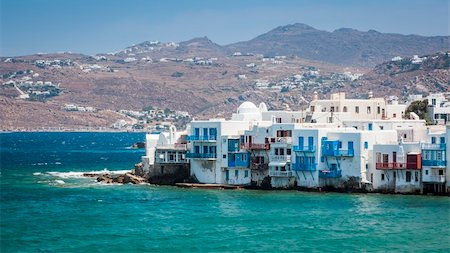 An image of the beautiful island Mykonos Greece Stock Photo - Budget Royalty-Free & Subscription, Code: 400-06142914