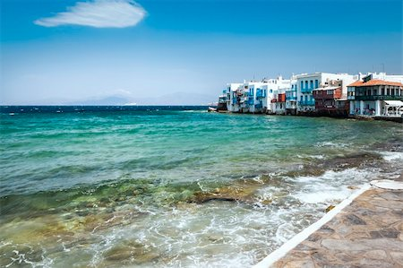 An image of the beautiful island Mykonos Greece Stock Photo - Budget Royalty-Free & Subscription, Code: 400-06142913