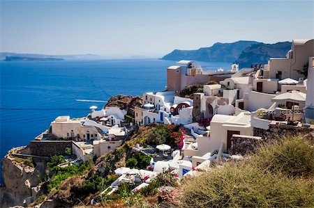 An image of a nice Santorini view Stock Photo - Budget Royalty-Free & Subscription, Code: 400-06142934