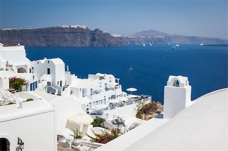 An image of a nice Santorini view Stock Photo - Budget Royalty-Free & Subscription, Code: 400-06142930