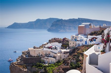 An image of a nice Santorini view Stock Photo - Budget Royalty-Free & Subscription, Code: 400-06142931
