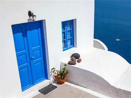 An image of a nice Santorini view Stock Photo - Budget Royalty-Free & Subscription, Code: 400-06142932