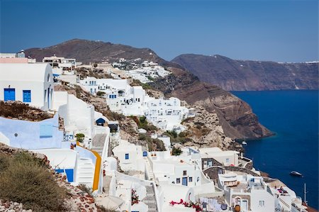 An image of a nice Santorini view Stock Photo - Budget Royalty-Free & Subscription, Code: 400-06142933