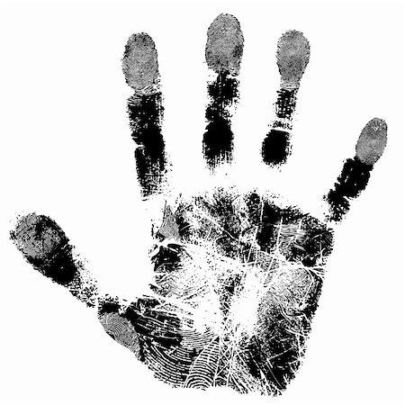 Print of hand of child, cute skin texture pattern,vector grunge illustration Stock Photo - Budget Royalty-Free & Subscription, Code: 400-06177478