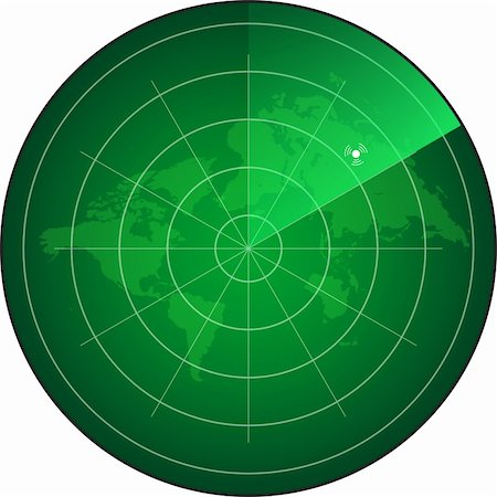 scope - radar screen Stock Photo - Budget Royalty-Free & Subscription, Code: 400-06171942