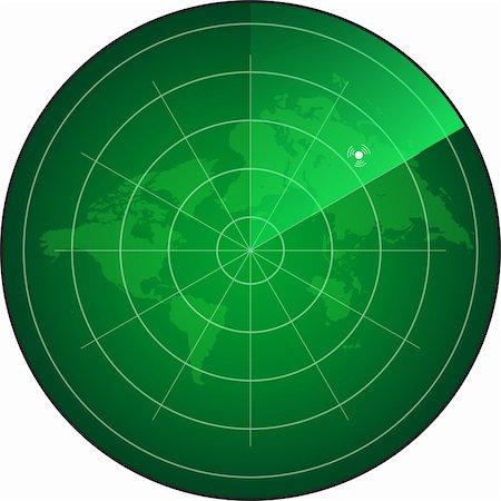 scope - radar screen Stock Photo - Budget Royalty-Free & Subscription, Code: 400-06171942