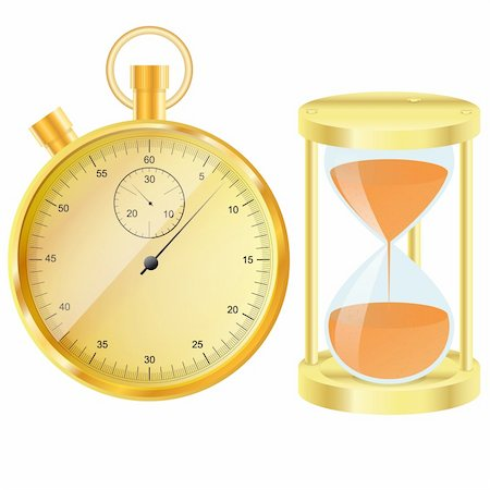 sand clock - Gold stopwatch and hourglass Also available as a Vector in Adobe illustrator EPS format, compressed in a zip file. The vector version be scaled to any size without loss of quality. Stock Photo - Budget Royalty-Free & Subscription, Code: 400-06199985