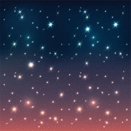 Night sky with stars, EPS10 Stock Photo - Budget Royalty-Free & Subscription, Code: 400-06200265