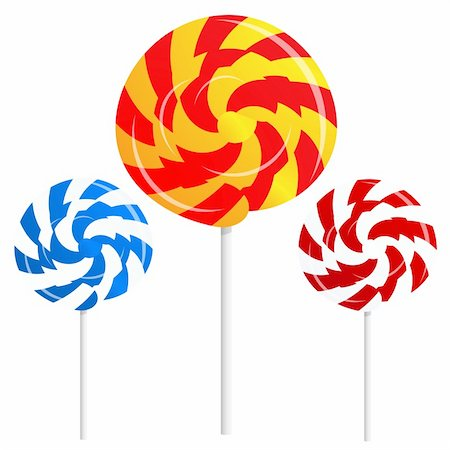 simsearch:400-04344039,k - round shape lollipops on white background Also available as a Vector in Adobe illustrator EPS format, compressed in a zip file. The vector version be scaled to any size without loss of quality. Stock Photo - Budget Royalty-Free & Subscription, Code: 400-06200460