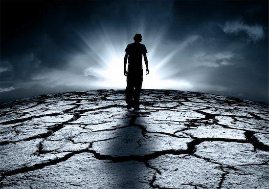 A depressed teenager walking towards the light Stock Photo - Royalty-Free, Artist: kwest, Image code: 400-06330168