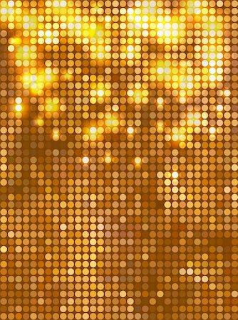 spark vector - Golden vector background Vertical mosaic with light spots Stock Photo - Budget Royalty-Free & Subscription, Code: 400-06367212