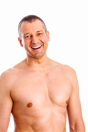 An image of a body of a middle age man Stock Photo - Budget Royalty-Free & Subscription, Code: 400-06392138
