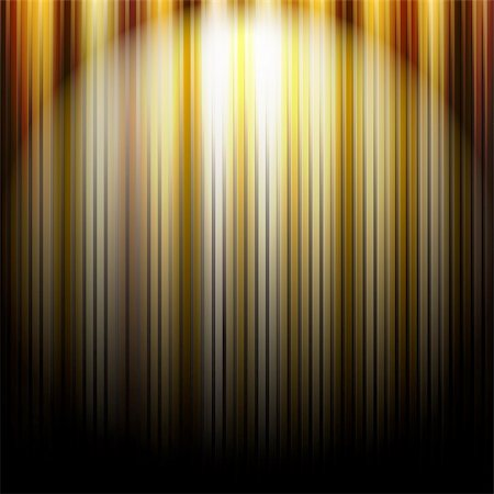 Gold Abstract Background With Lines, Vector Illustration Stock Photo - Budget Royalty-Free & Subscription, Code: 400-06454257