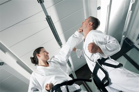 An image of a woman and a man fighting Stock Photo - Budget Royalty-Free & Subscription, Code: 400-06478182
