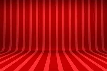 Empty studio with striped backdrop Stock Photo - Budget Royalty-Free & Subscription, Code: 400-06473215