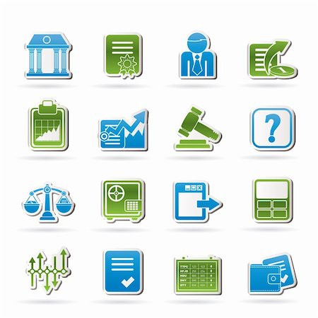 report icon - Stock exchange and finance icons - vector icon set Stock Photo - Budget Royalty-Free & Subscription, Code: 400-06482398