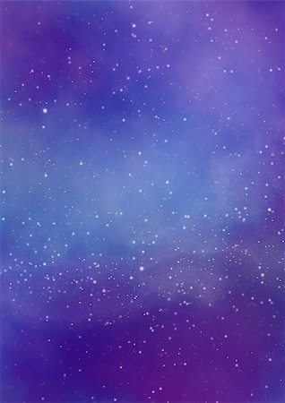 Star field in space, a nebulae and a gas congestion Stock Photo - Budget Royalty-Free & Subscription, Code: 400-06554989