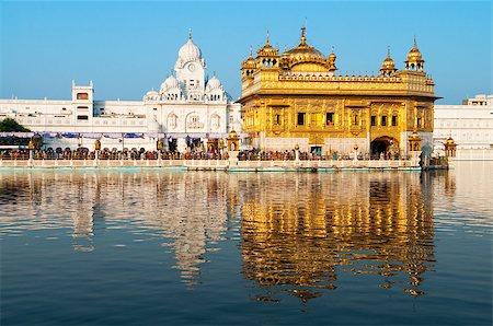 punjabi - Daytime view of Golden Temple, Amritsar, Punjab state, India, Asia Stock Photo - Budget Royalty-Free & Subscription, Code: 400-06558378