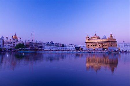 punjabi - Sunrise at Golden Temple, Amritsar, Punjab state,India, Asia Stock Photo - Budget Royalty-Free & Subscription, Code: 400-06558380