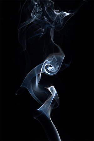 smoke on black Stock Photo - Budget Royalty-Free & Subscription, Code: 400-06558661