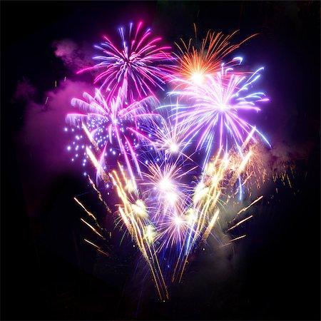A large Fireworks Display event. Stock Photo - Budget Royalty-Free & Subscription, Code: 400-06559912