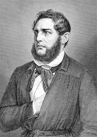 franxyz - Franz Heinrich Zitz (1803-1877) on engraving from 1859. German attorney. Engraved by unknown artist and published in Meyers Konversations-Lexikon, Germany,1859. Stock Photo - Budget Royalty-Free & Subscription, Code: 400-06565264