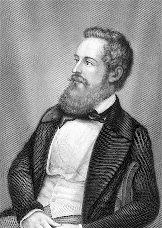 franxyz - Franz Schuselka (1811-1886) on engraving from 1859. Politician of the Austrian Empire. Engraved by Metzeroth and published in Meyers Konversations-Lexikon, Germany,1859. Stock Photo - Budget Royalty-Free & Subscription, Code: 400-06565271