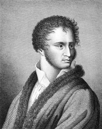 franxyz - Franz von Sonnenberg (1779-1805) on engraving from 1859. German poet. Engraved by unknown artist and published in Meyers Konversations-Lexikon, Germany,1859. Stock Photo - Budget Royalty-Free & Subscription, Code: 400-06565273