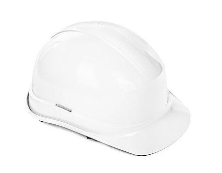 white hard hat, minimal shadow under object Stock Photo - Budget Royalty-Free & Subscription, Code: 400-06568758