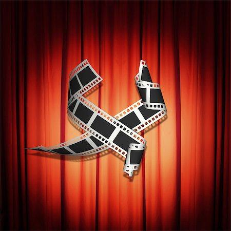 film strip - Film Strip Stock Photo - Budget Royalty-Free & Subscription, Code: 400-06568890