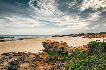 sailing boat storm - An image of the nice landscape of Broome Australia Stock Photo - Budget Royalty-Free & Subscription, Code: 400-06561785