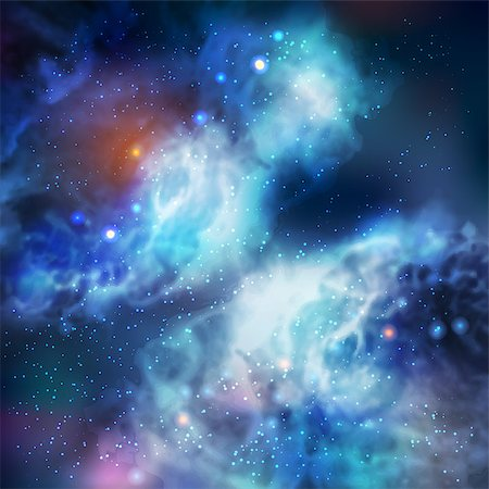 100% Vector Butterfly Galaxy In Deep Space Stock Photo - Budget Royalty-Free & Subscription, Code: 400-06629451