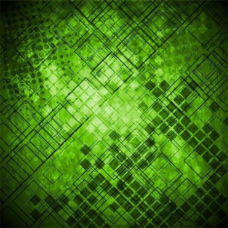 Abstract green grunge technical background Stock Photo - Budget Royalty-Free & Subscription, Code: 400-06629504