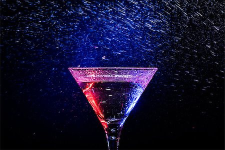 colourful coctail on the black background Stock Photo - Budget Royalty-Free & Subscription, Code: 400-06638943