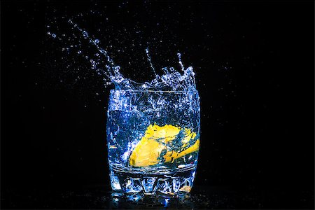 colourful coctail on the black background Stock Photo - Budget Royalty-Free & Subscription, Code: 400-06638950