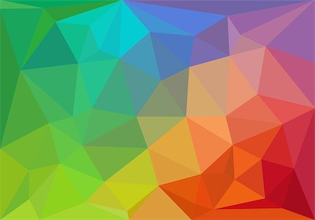 colorful geometric pattern, triangle polygon design, vector background Stock Photo - Budget Royalty-Free & Subscription, Code: 400-06695768
