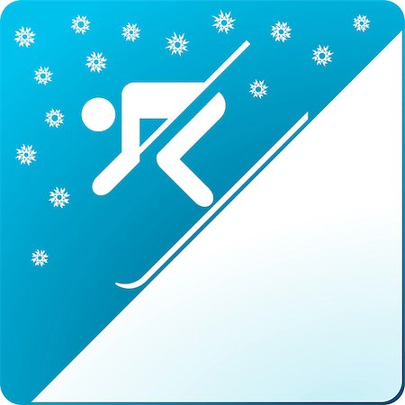 skier and snow Stock Photo - Budget Royalty-Free & Subscription, Code: 400-06691893