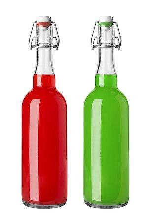 Juice bottle isolated on white background Stock Photo - Budget Royalty-Free & Subscription, Code: 400-06737058