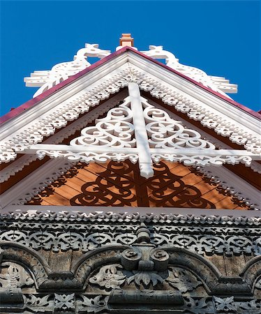 frbird - Roof of traditional wooden house Stock Photo - Budget Royalty-Free & Subscription, Code: 400-06749713