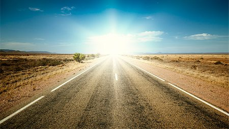An image of a nice road to the sun Stock Photo - Budget Royalty-Free & Subscription, Code: 400-06764305