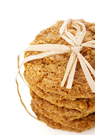 A stack of homemade oatmeal cookies Stock Photo - Budget Royalty-Free & Subscription, Code: 400-06767801