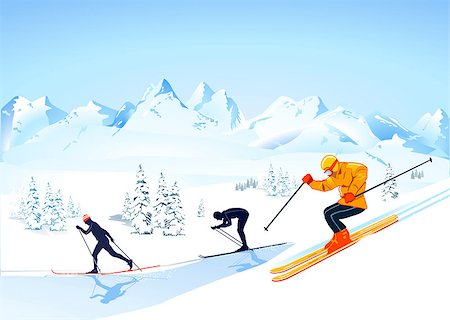 skiing Stock Photo - Budget Royalty-Free & Subscription, Code: 400-06763608
