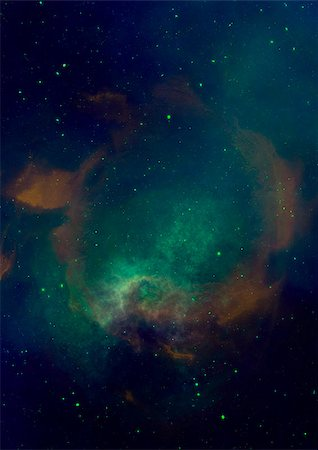 Small part of an infinite star field of space in the Universe Stock Photo - Budget Royalty-Free & Subscription, Code: 400-06770332