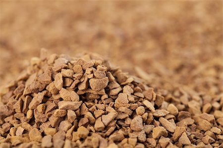 Background made from instant coffee granules Stock Photo - Budget Royalty-Free & Subscription, Code: 400-06770868